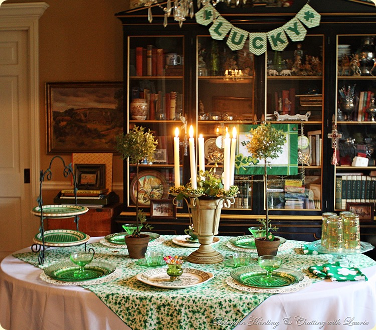 ST PATRICK'S TABLE