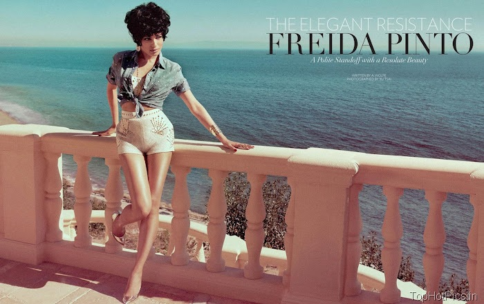 Freida Pinto Sexy 2012 Pics from Magazine 8