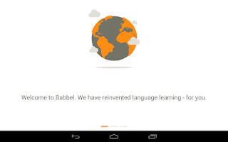 Screenshot of Learn Spanish with Babbel