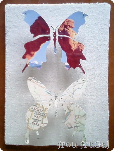 Map and Picture Butterflies