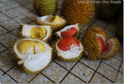 Durian otak udang galah