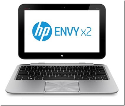 HP Envy x2 Undocked Front