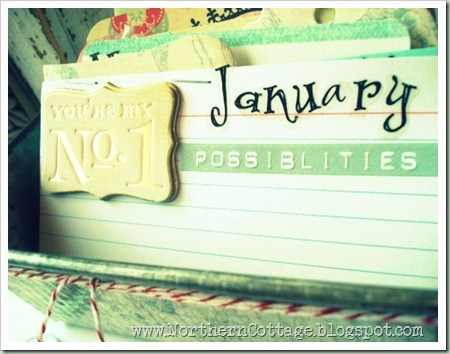 northern cottage container calendar 2