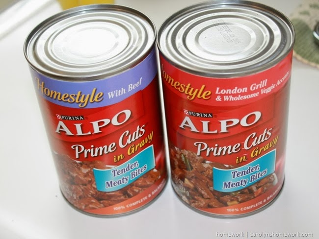 Feeding our faithful pets. ALPO dog food via homework | carolynshomework.com