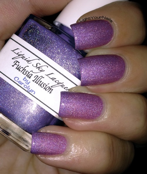 Liquid Sky Lacquer Fuchsia Illusion