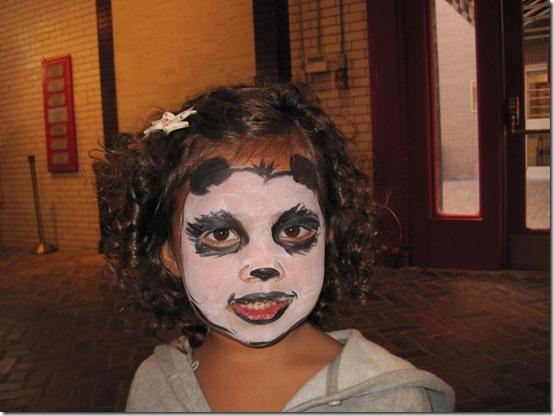 maquillaje de oso panda (1)