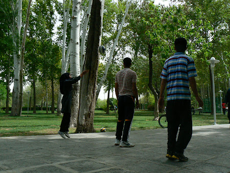 Iran fun: volei in Esfahan