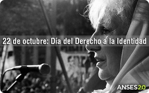 derecho identidad argentina