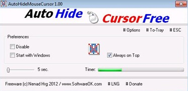 Free Hide Mouse Cursor Software
