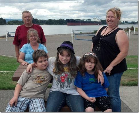 Larimer Easton family
