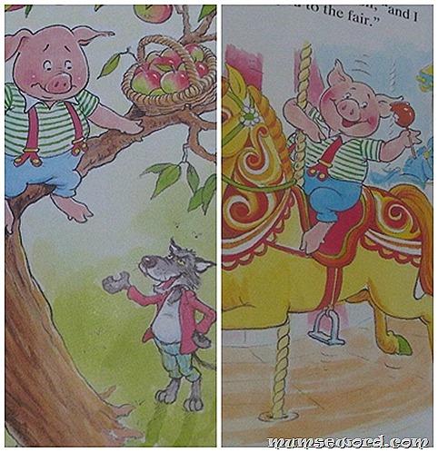 Three Little Pigs shocker