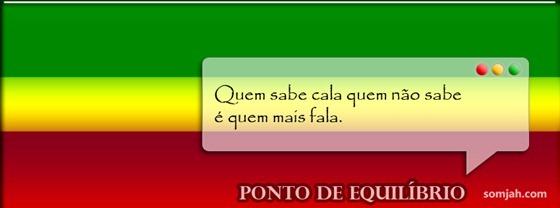 capa para fabook reggae frase Ponto de Equilibrio