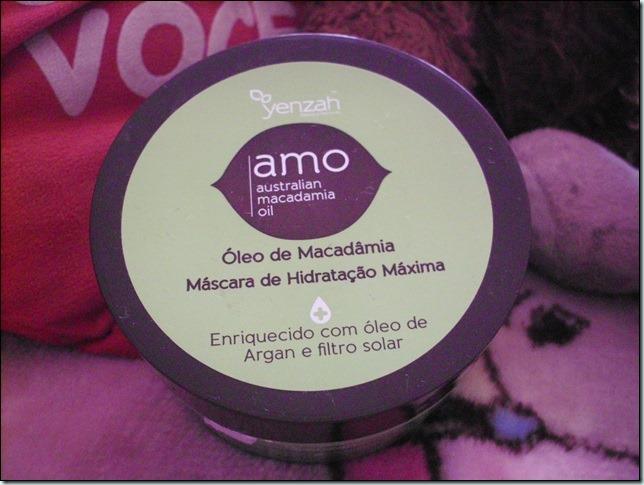 Amo Yenzah–Mascara de Hidratação de Macadâmia