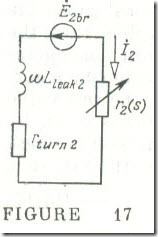 The Equivalent Circuit for a Phase of an Induction Motor 3