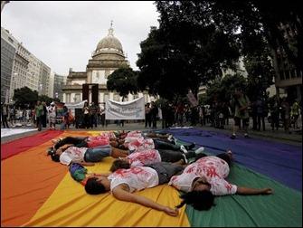 Rio de Janeiro manifestação cura gay  01