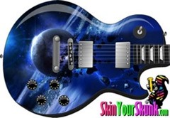 Guitar skins outer space guitar skins for Outer space guitar