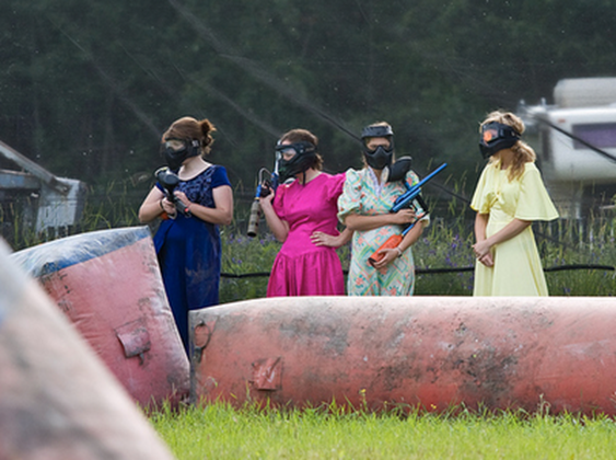 The Paintball Bride 7