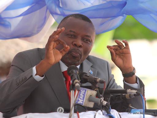 Vital Kamerhe, président national de l'Unc ce 21/06/2011 à Kinshasa, lors de la signature de la charte des membres de AVK. Radio Okapi/ Ph. John Bompengo