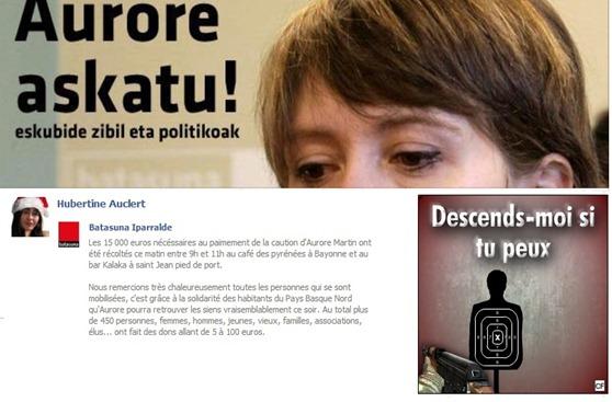 Aurore Martin solidaritat basca