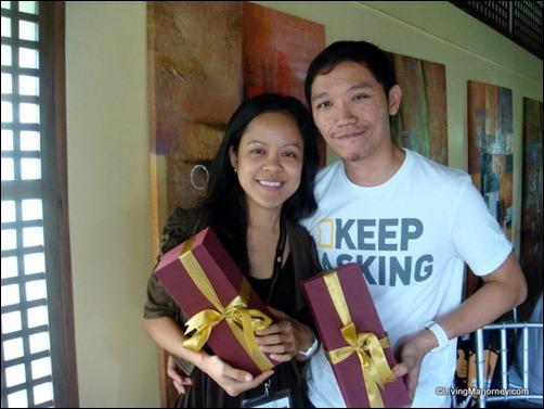 LivingMarjorney & BloggerManila attending the Happiest Pinoy Boot Camp