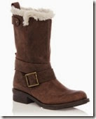 Oasis Leather Warm Lined Boots