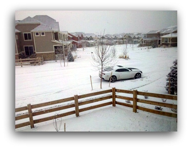 car at home