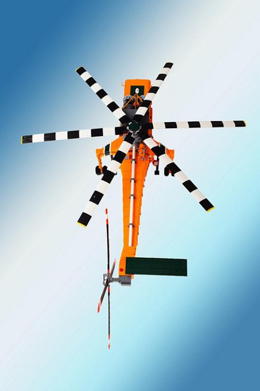 Helicóptero de Legos 11