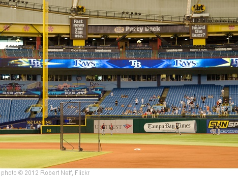 'Pregame, Tropicana Field' photo (c) 2012, Robert Neff - license: http://creativecommons.org/licenses/by/2.0/