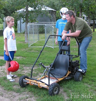 Grands and the Go cart