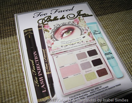 Paletas Too Faced