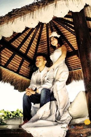巴厘岛婚纱照咯 !!!  用了大约二小时终于拍完