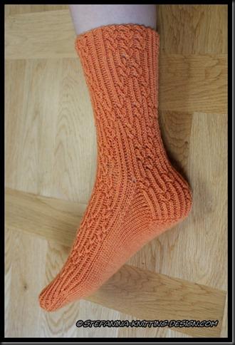 Orangeraie Socks - half