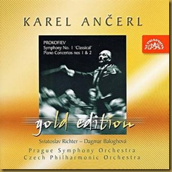 Prokofiev Sinfonía Clásica Ancerl