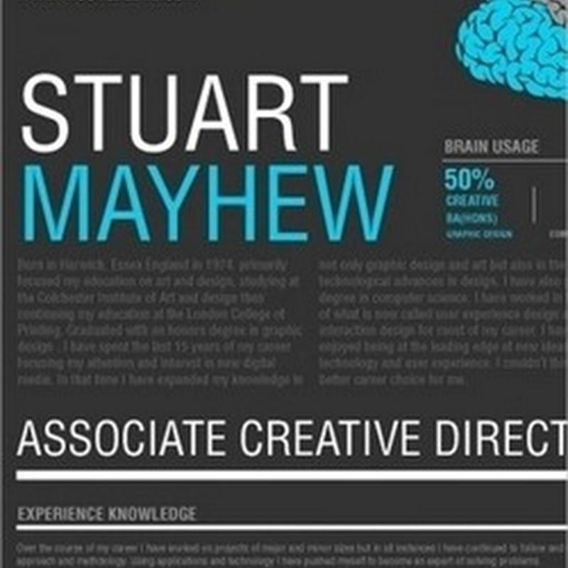 16 muestras de CV creativos que no precisamente son para diseñador
