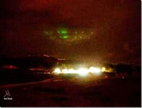OVNI gigante é visto na Terra do Fogo