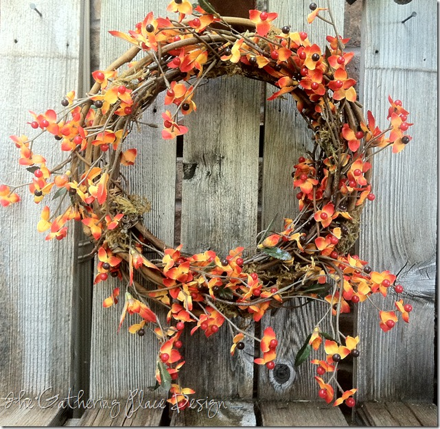 The Gathering Place Design - Bittersweet Stem Wreath