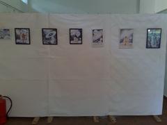 In ziua de Joi 9 Iunie am dus 7 desene in pix la salonul de grafica