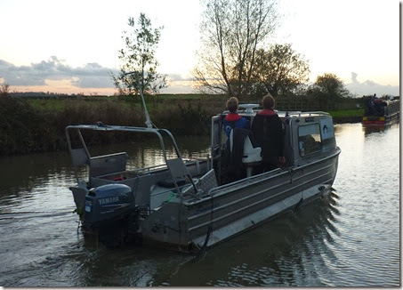 hydrographic survey at seend