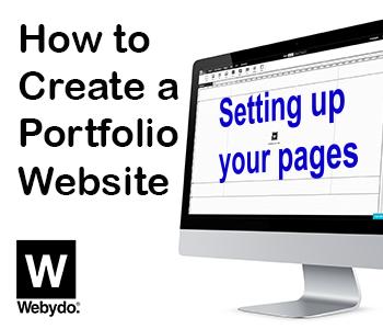 create portfolio website