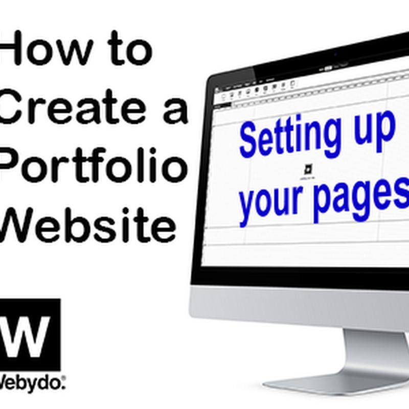 How to Build a Classic Artist Portfolio Website with Webydo
