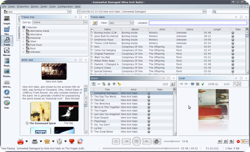 jajuk_Mainpage_screenshot