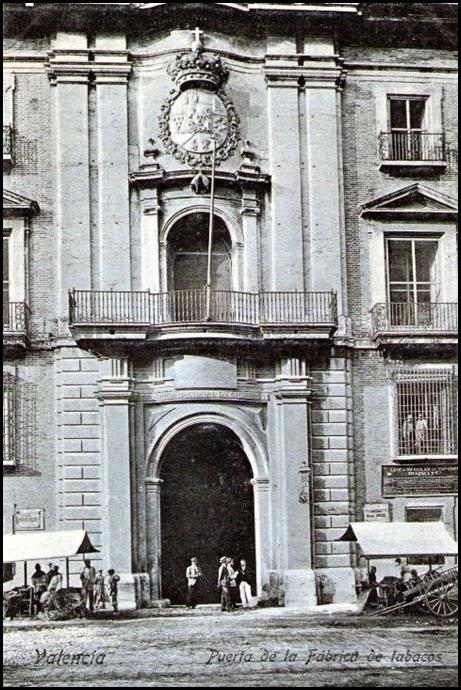 fabrica de tabacos 1905