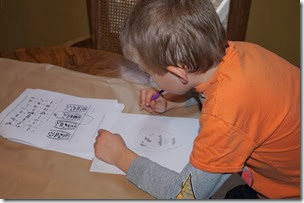 Homeschool History - studying Hieroglyphics