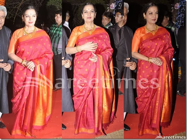 Shabana_Azmi_Pink_Traditional_Silk_Saree