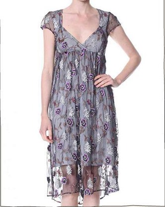 What a mesh dress