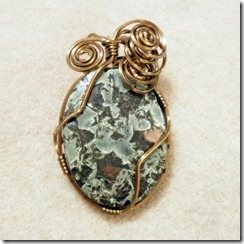 wire-wrapped cabachon