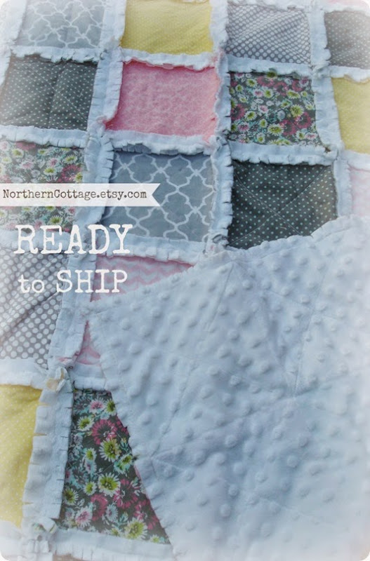 Cozy Crib Quilt rts {NorthernCottage}