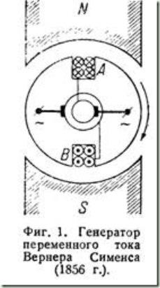 генератор переменного тока Вернера Сименса