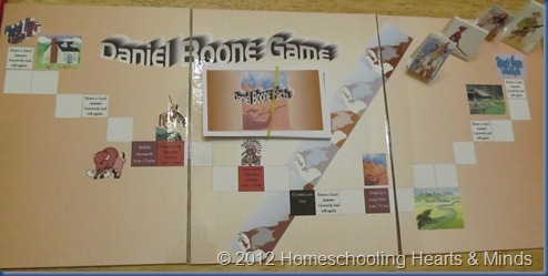 Daniel Boone board game