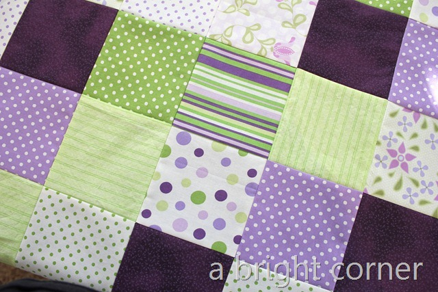 greens and purples top